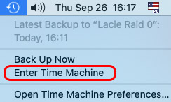 how to restore hard drive from time machine backup on mac