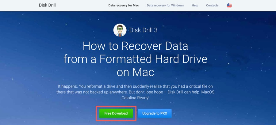 recover formatted hard drive mac