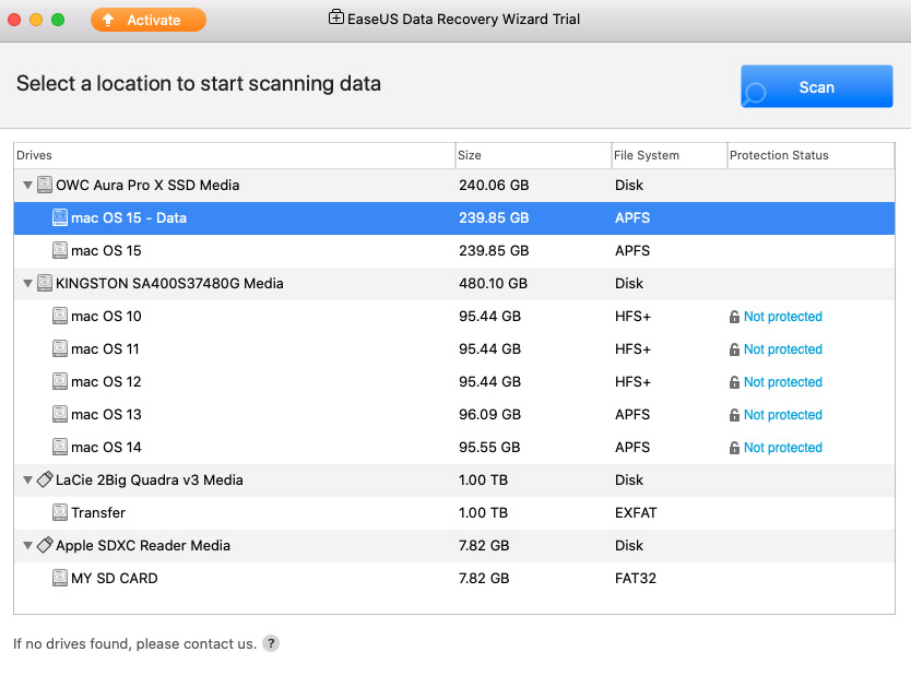 memory card data recovery software mac