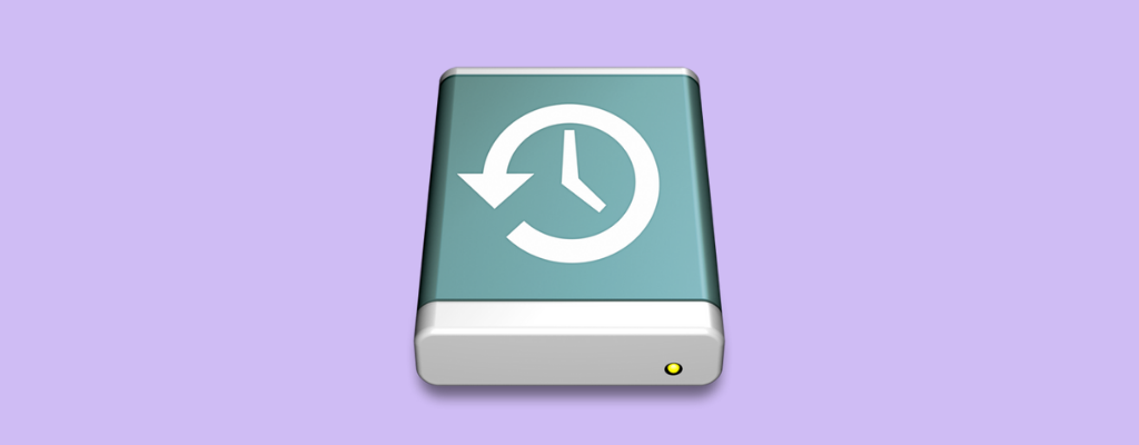 Restore Hard Drive from a Time Machine Backup