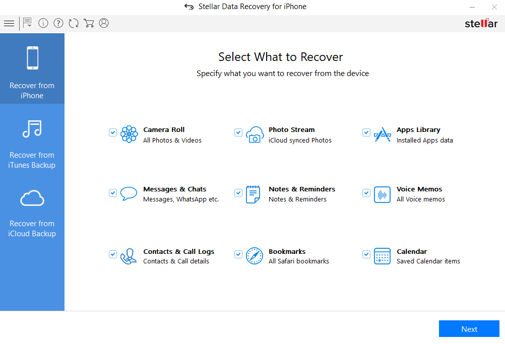 ios data recovery software for windows
