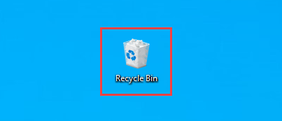 recover deleted files on windows 10 from recycle bin