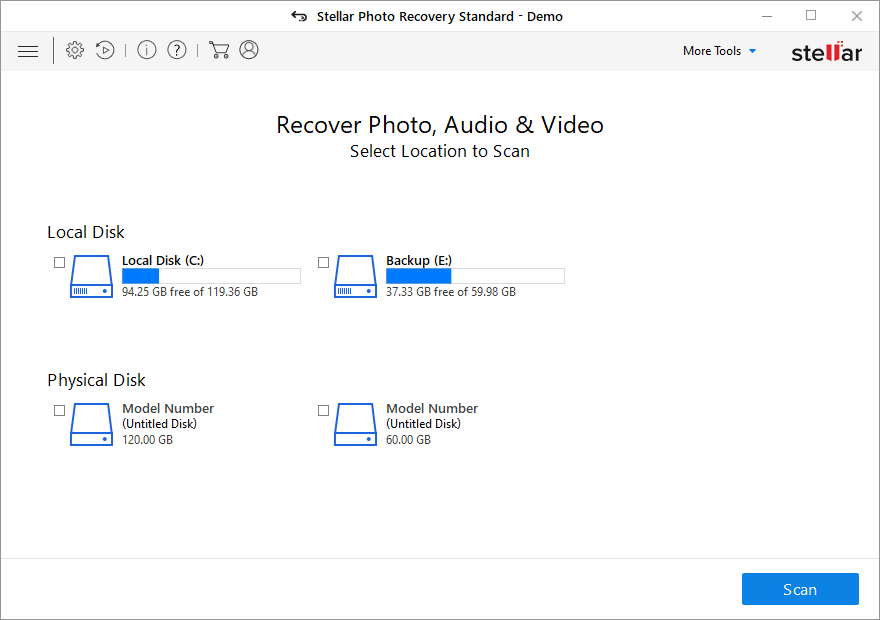 photo recovery software stellar