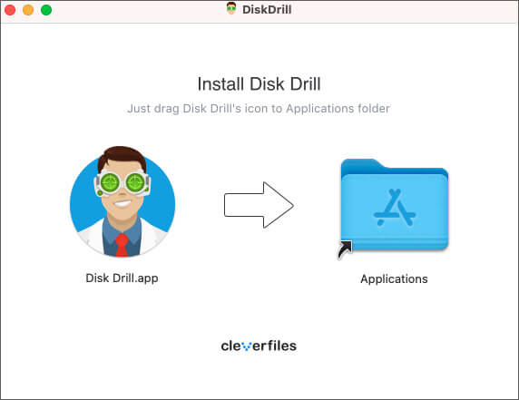 install disk drill for mac
