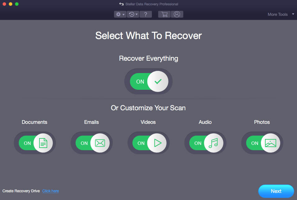 Stellar Data Recovery for Mac