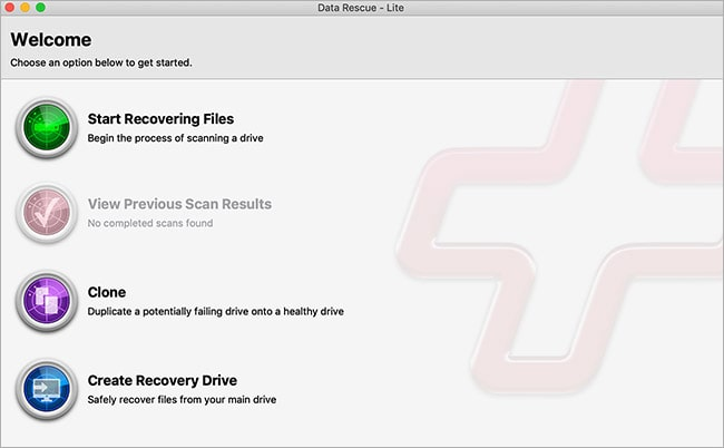 Data Rescue for Mac