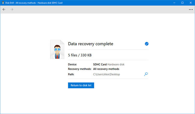 sdhc card recovery software